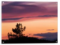 Norfolk Sunset - 3, Acrylic Print