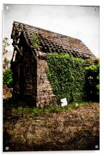 Standing the test of time (Old Church), Acrylic Print