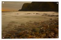 Dawn at Stonehaven, Acrylic Print