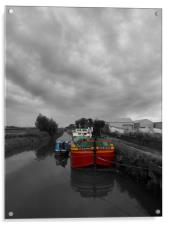 Sequana | Beverley Canal, Acrylic Print