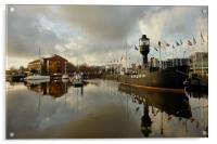Hull Marina, Acrylic Print