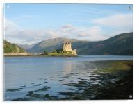 Eilean Donan Castle, Acrylic Print