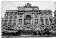 Rome's Trevi Fountain, Acrylic Print
