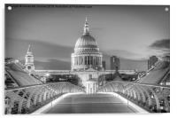 St Pauls London, Acrylic Print