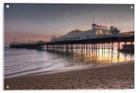 Brighton Pier, Acrylic Print