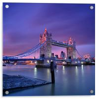 London Tower Bridge, Acrylic Print