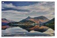 The Pap of Glencoe Scotland, Acrylic Print