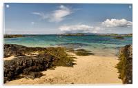 Isle of Skye from Arisaig, Acrylic Print