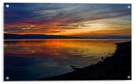 Seaside Sunset, Acrylic Print