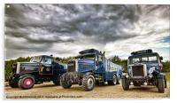 Scammell Family, Acrylic Print