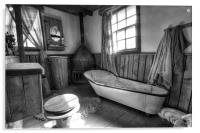 Ye Old Bath Time, Acrylic Print