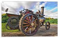 Traction Engine, Acrylic Print