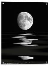 Lunar water, Acrylic Print