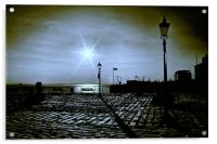 Textured Seafront 2011, Acrylic Print
