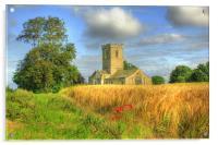 St Andrews Church 2012, Acrylic Print