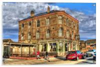 Halfway Hotel, Hull 2012, Acrylic Print