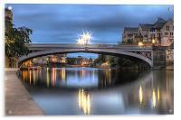 Lendal Bridge York 2013, Acrylic Print