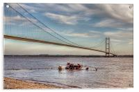 Humber Recovery 2014, Acrylic Print