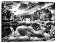 bishops storm clouds, Acrylic Print