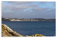 St Mawes Village, Acrylic Print