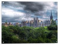 Edinburgh Skyline, Acrylic Print