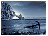 Forth Rail Bridge Scotland, Acrylic Print