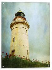 Paphos Lighthouse, Cyprus, Acrylic Print