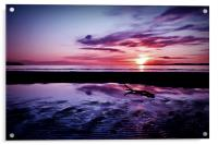 Troon Beach, Ripples, Acrylic Print