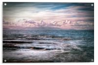The Tide At Troon, Acrylic Print