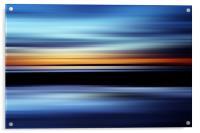 Seaside Abstract, Acrylic Print