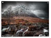 The Mood Of Winter, Scotland, Acrylic Print