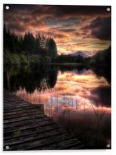 Loch Ard, Summer Dreams, Acrylic Print
