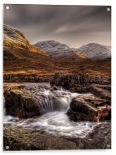 The River Etive, Scotland, Acrylic Print