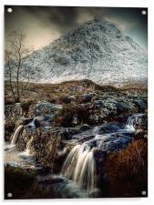 The Buachaille Etive Mor, Scotland, Acrylic Print