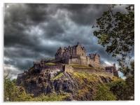Edinburgh Castle Scotland, Acrylic Print