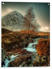 The Buachaille Etive Mor Scotland, Acrylic Print