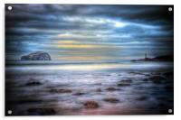 Bass Rock North Berwick, Acrylic Print