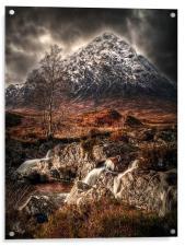 The Buachaille Glen Coe, Acrylic Print