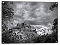 Edinburgh Castle Scotland, Acrylic Print
