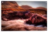 Glen Etive, Acrylic Print