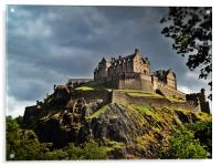 Edinburgh Castle, Scotland., Acrylic Print