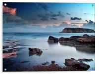 Evening Light On St. Georges Island, Acrylic Print