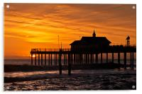 Sunrise over Southwold Pier, Acrylic Print