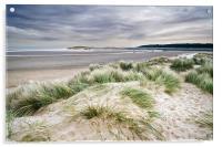 Holkham Sand Dunes, Acrylic Print