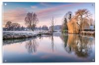 River Bure at Coltishall, Acrylic Print