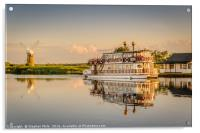 Paddle Boat Southern Comfort, Acrylic Print