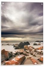 Koekohe Beach, Acrylic Print
