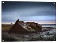 Wreck at Hoo, Acrylic Print