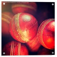 Cricket Balls, Acrylic Print