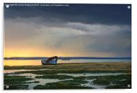 Approaching Rainstorm, Acrylic Print